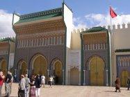 Fes - brány královského paláce