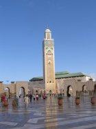 Casablanca  Mešita Hassana II s náměstím