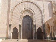Casablanca - Vstupní portál do mešity