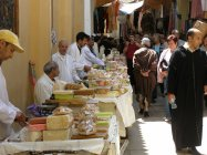 Fes - Prodejci sladkostí
