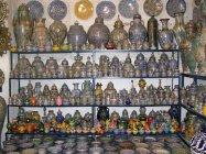 Fes - Karafy,nádoby,misky,hrnečky....