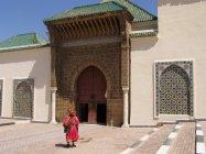 Meknés -Vstup do mauzoela Muláje Ismaila