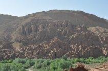 Dadés - Skalní útvar Mozek Atlasu