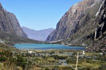 3. Údolí s pomníkem našich horolezců